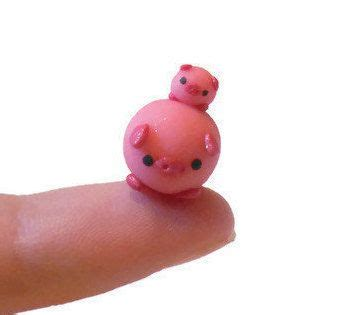 Pin Monokuro Boo Babi Pig clay sculptures baby pigs and and baby on