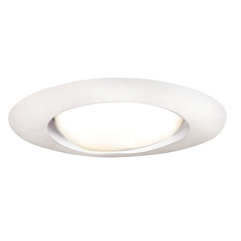 home depot can lights halo 6 in white recessed ceiling light open trim 401p