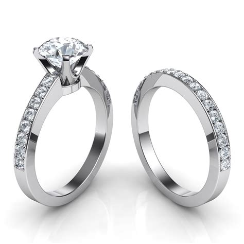 novo brilliant engagement ring matching