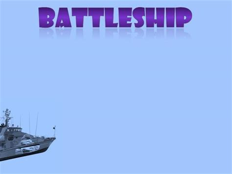battleship powerpoint template ok template battleship authorstream