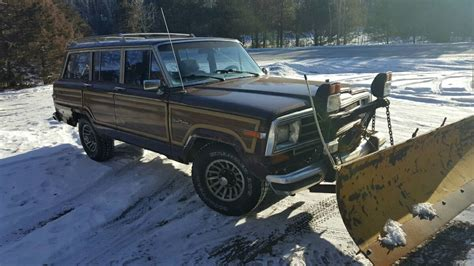Jeep Grand For Sale Mn 1988 Jeep Grand Wagoneer W Myers Snow Plow For Sale In