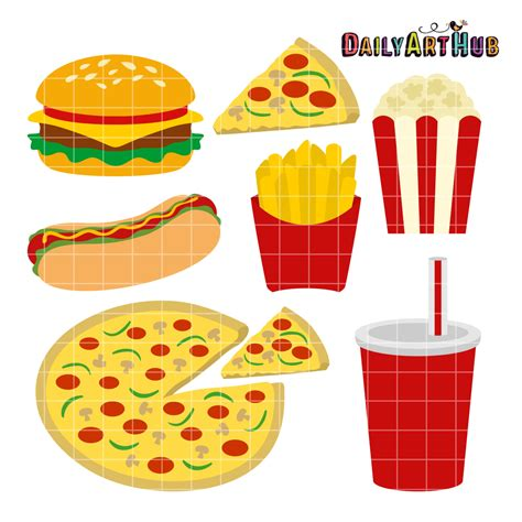 printable junk food coupons free printable food clipart 61