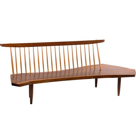 conoid bench george nakashima conoid bench 1960s for sale at 1stdibs