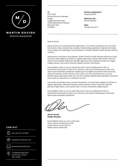 design manager cover letter downloadable cover letter