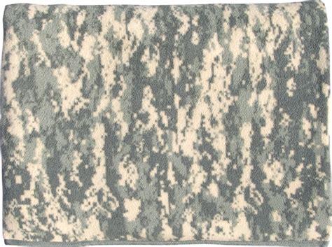 army pattern fleece army acu camouflage fleece blanket