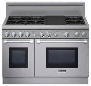 Dual Fuel Cooktop Thermador 48 Quot Pro Harmony Dual Fuel Range Stainless Steel