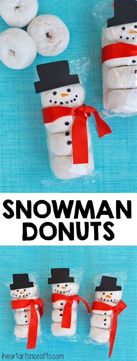 christmas sunday school crafts snacks snowman donuts snack idea classroom snacks donuts and snowman