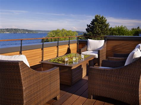 the nest modern patio seattle by deforest architects