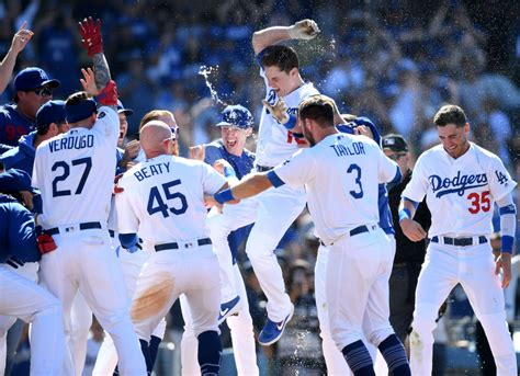 dodgers news los angeles owns  top   mlb power rankings dodgers nation