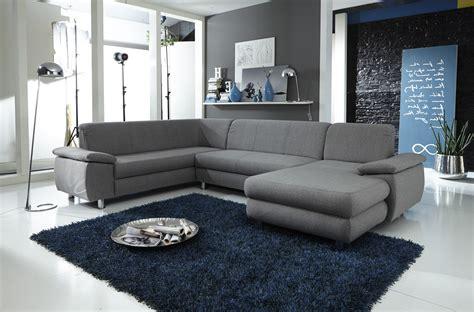 couchgarnitur ottomane wohnlandschaft u form mexico wohnlandschaften sofas