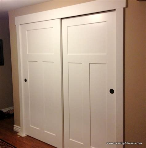 The Rhodes Log Closet Door Makeover Ideas Help Doors For Closet
