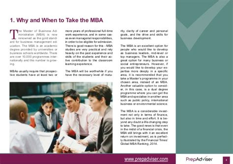Mba Admission Test Preparation Guide by Preparation Guide To International Mba Admissions