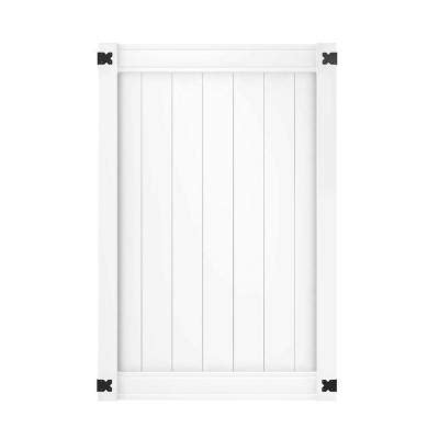 veranda pro series 4 ft w x 6 ft h white vinyl