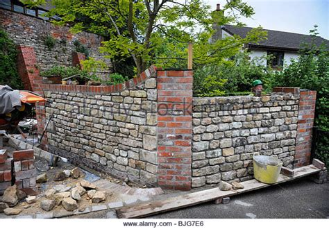 Wall Coping Stock Photos Wall Coping Stock Images Alamy Reclaimed Brick Garden Walls