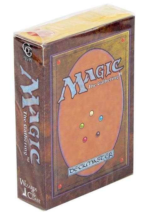 Magic The Gathering Black Starter Deck by Magic The Gathering Alpha Starter Deck Incredibly