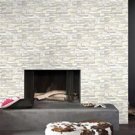 Papier Peint Brique Blanche 3751 by Papier Peint Intiss 233 Brique Marbre Blanc Leroy Merlin