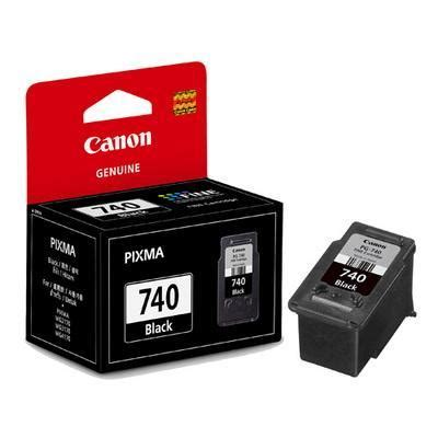 genuine canon pg 740 black ink cart end 1 22 2019 10 31 am
