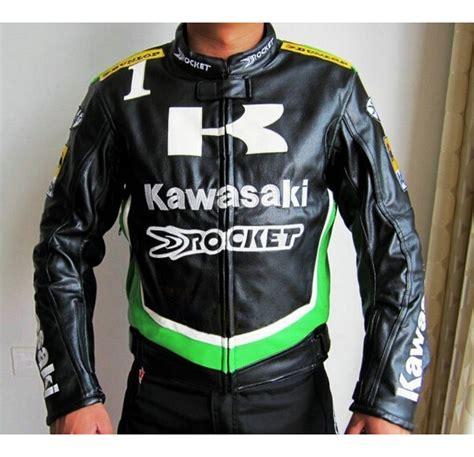 Kawasaki Motorrad Jacken by Online Kaufen Gro 223 Handel Kawasaki Lederjacken Aus China