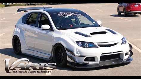 subaru rsti widebody varis widebody subaru wrx review