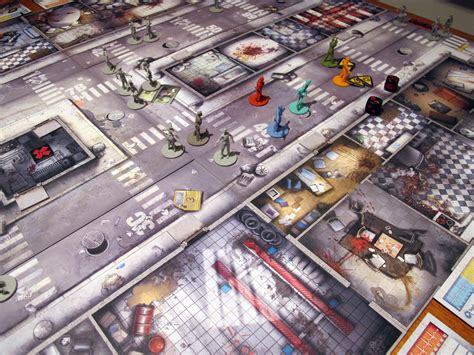 layout game zombicide app digitally enhances an elaborate board game