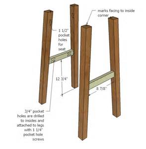 Building A Bar Stool Build Wooden Bar Stool Plans Plans Bathroom