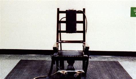 un am 233 ricain choisit de mourir sur la chaise 233 lectrique