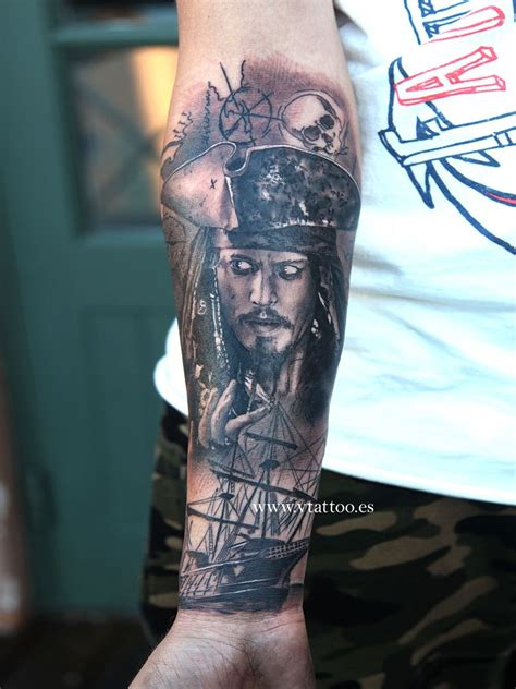 captain tattoo captain sparrow v mix