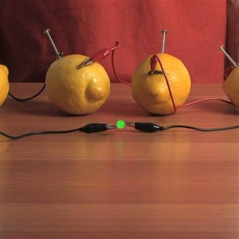 fruit electricity une batterie au citron cabane 224 id 233 es
