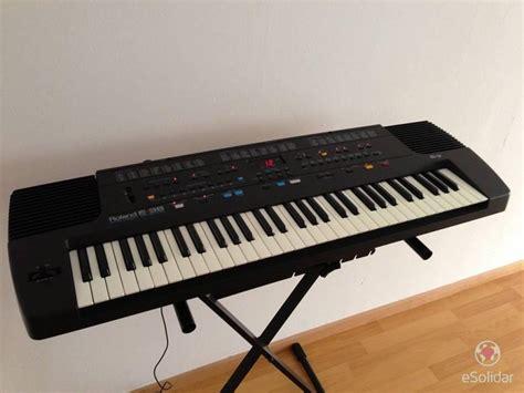 Keyboard Roland U20 teclado roland e 38