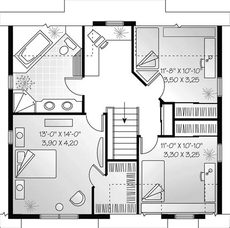 Country Farmhouse Floor Plans Marion Heights Farmhouse Plan 032d 0552 House Plans And More
