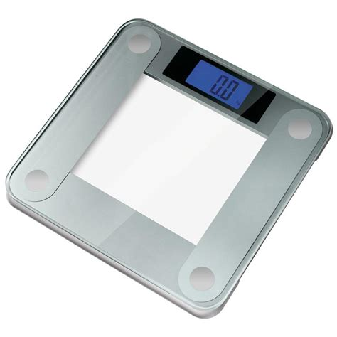 Ozeri Bathroom Scale by Ozeri Precision Ii Digital Bathroom Scale With Widescreen Blue Backlit Xbright Lcd And Step On