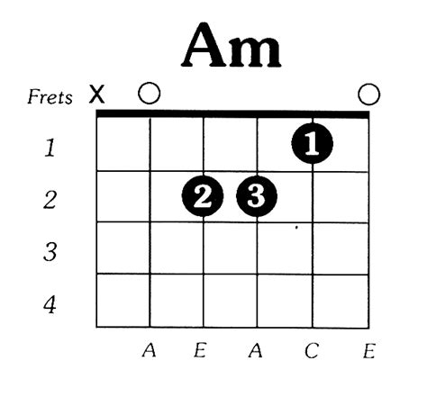 Easy B Minor Guitar Chord