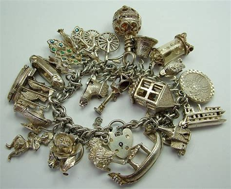 vintage and charms vintage sterling silver charm bracelets we are currently