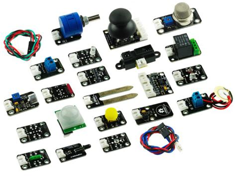 arduino resistor types gravity advance sensor set for arduino robotshop