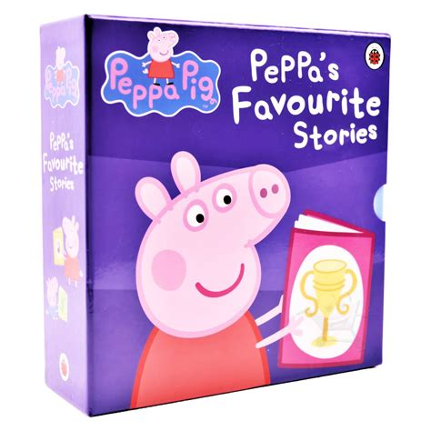 peppa s s day peppa pig books new peppa pig favourite stories 10 book box set collection