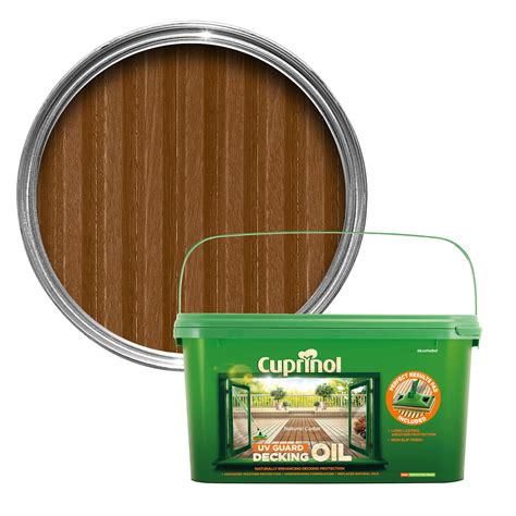 cuprinol uv guard natural cedar decking oil
