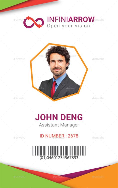 cool id card template multipurpose business id card template by dotnpix