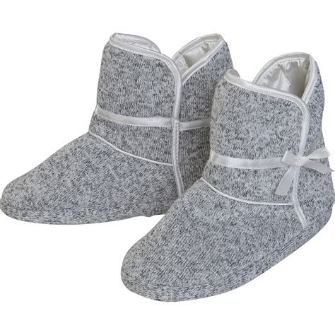 womans slipper boots anti slip sole slipper boots womens slenderella