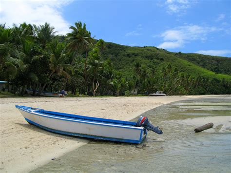 boats ylands wooden boat on a tropical island 6137 stockarch free