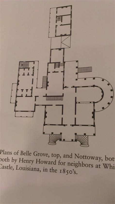nottoway plantation floor plan main floor plan louisiana nottoway plans pinterest