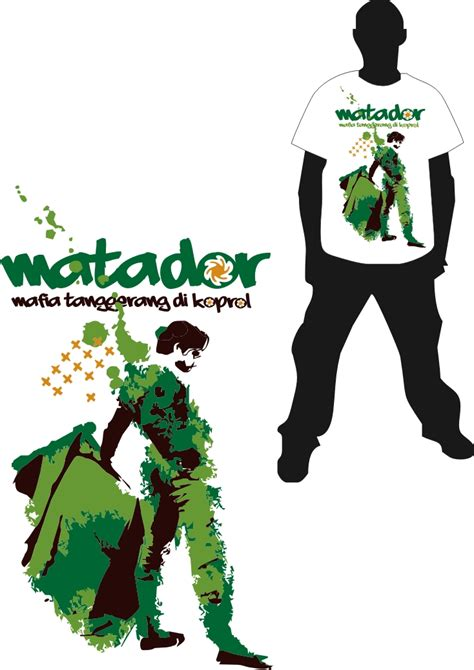 desain kaos tour desain kaos matador on koprol by greenizijo on deviantart