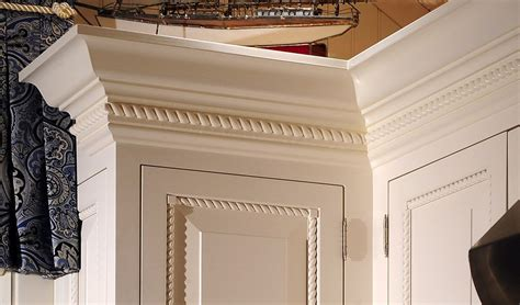 adding rope molding to cabinets cabinet and molding enhancements love the rope molding