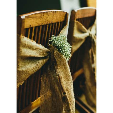 Noeuds De Chaise by Louer Des Noeuds De Chaise En Toile De Jute Pour Sublimer