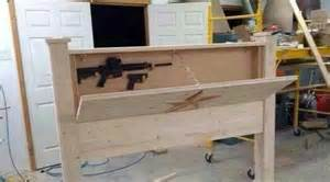 Headboard Gun Safe Gun Safe Inside A Board Second Amendment