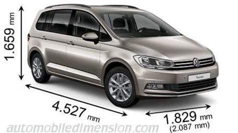 volkswagen minivan 2016 interior dimensions volkswagen touran 2016 coffre et int 233 rieur