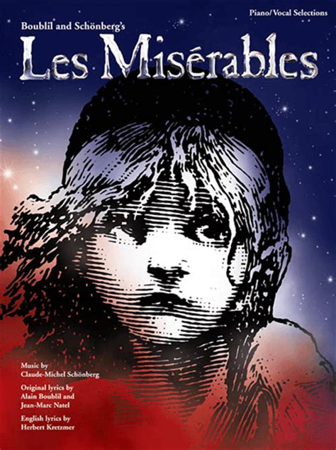 groundhog day vocal selections les miserables updated version piano vocal selections