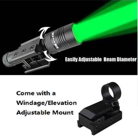 best compact weapon light 5 best laser flashlights a combination of laser