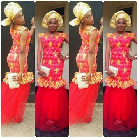 ashebi latest style in nigeria ankara aso ebi fashion styles aso ebi styles latest aso