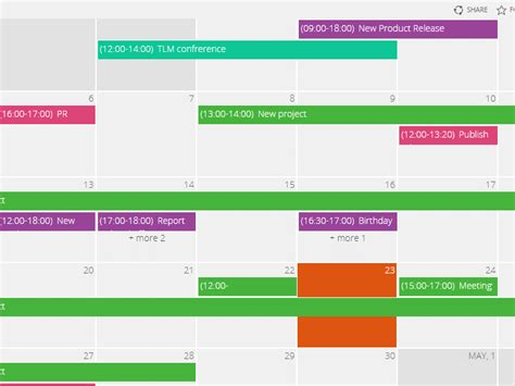 sharepoint calendar web part virtosoftware
