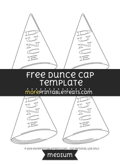 dunce hat template dunce hat template easy origami